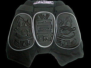 Snowboard protectie short soft